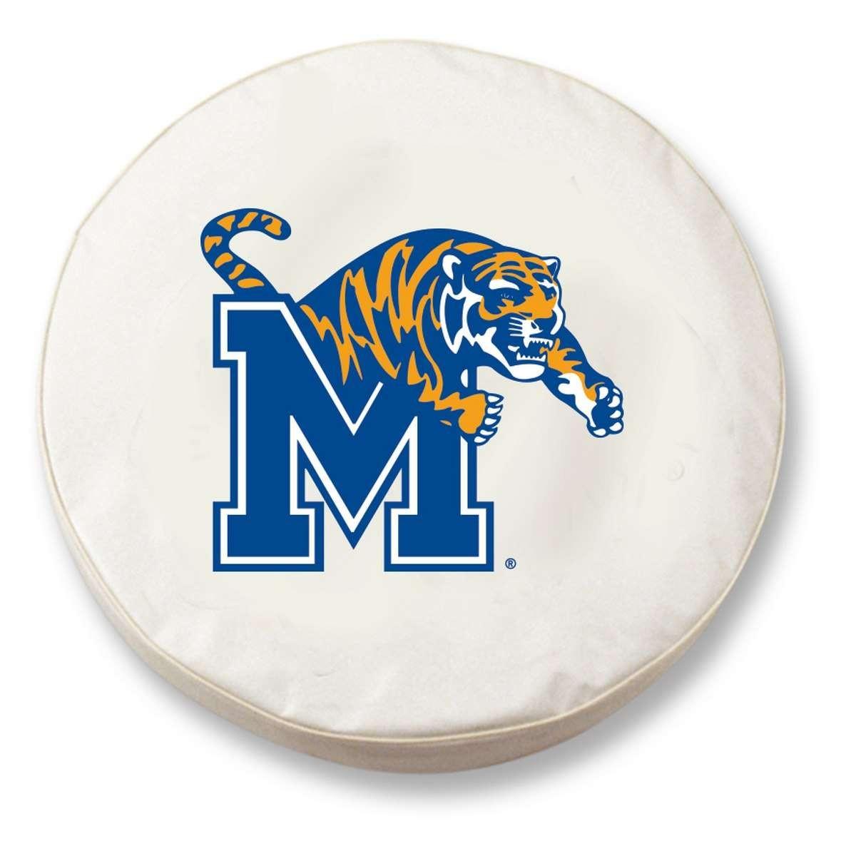"""Tire Repair Memphis: Holland Bar Stool 37"""" X 12.5"""" White University Of Memphis"""