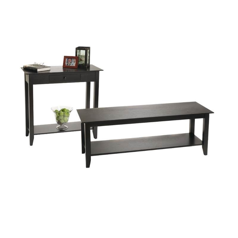 Home Square 2 Piece Living Room Table Set With Coffee