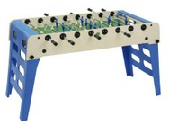 "Imperial International Openair 26-7940 65"" Weatherproof Foosball Table with Folding Legs  Anti-Rust Steel Ball Bearings and Waterproof Table Cover Included in Multi Color"