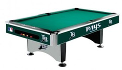 Imperial International 64-2019 Tampa Bay Rays 8' Pool Table