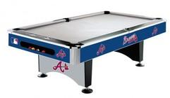 Imperial International 64-2010 Atlanta Braves 8' Pool Table
