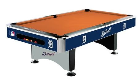 Imperial International Detroit Tigers 8 Pool Table