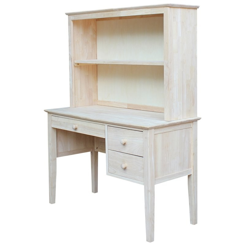 International Concepts Brooklyn Unfinished Writing Desk