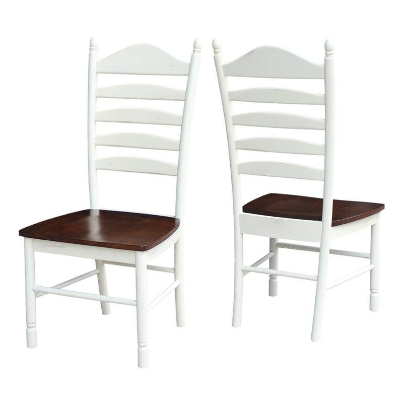 International Concepts Tall Dining Chair In Alabaster (Set