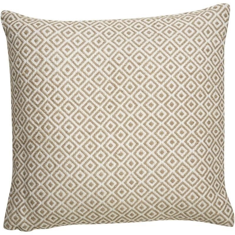 "Kitchen Garden Jaipur: Jaipur Rugs Peykan 22"" Square Viscose And Linen Pillow"