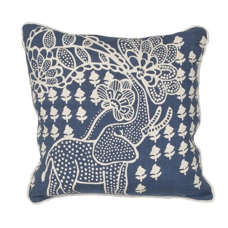 """Kitchen Garden Jaipur: Jaipur Rugs En Casa By Luli Sanchez 18"""" Square Linen"""