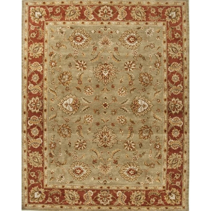 Kitchen Garden Jaipur: Jaipur Rugs Mythos 9' X 12' Hand Tufted Wool Rug In Green