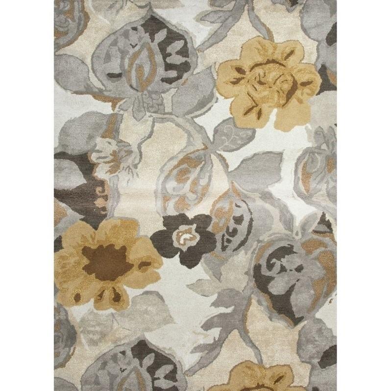 """Kitchen Garden Jaipur: Jaipur Rugs Blue 9'6"""" X 13'6"""" Hand Tufted Wool Rug In"""