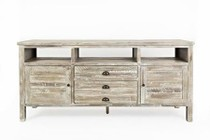 "Jofran 1743-70 Artisan'S Craft 70"" Media Console - Washed Grey"
