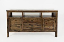"Jofran 1742-60 Artisan'S Craft 60"" Media Console - Dakota Oak"