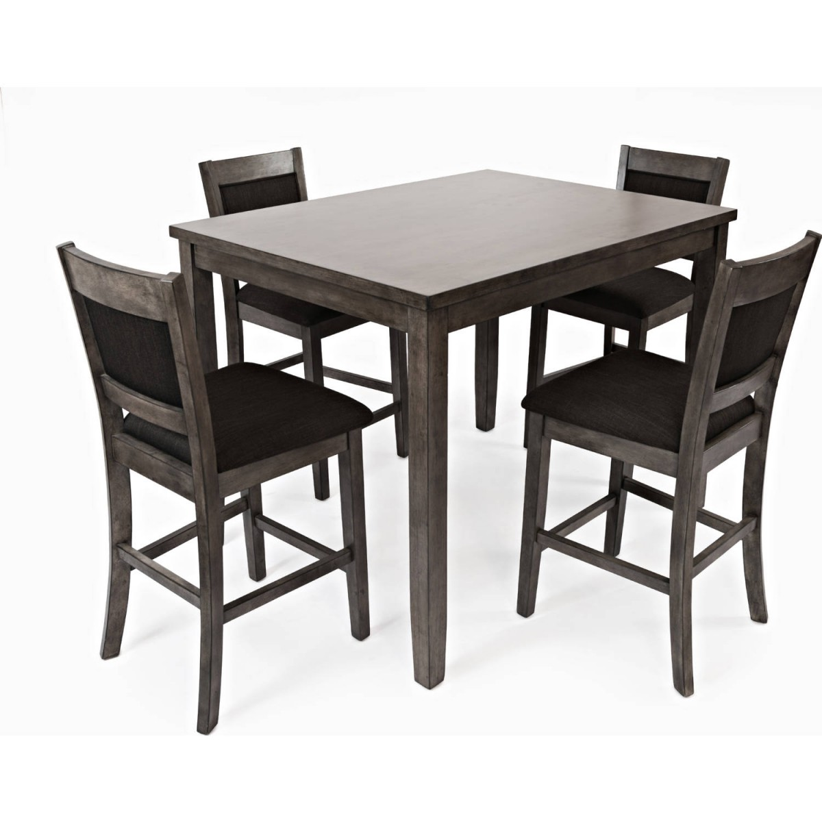 Cheap 5 Piece Dining Set: Jofran Grayson Heights Gray 5-Piece Counter Height Dining