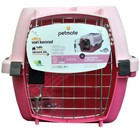 Kennel Cab Pampered Pet Light Pink/Dark Pink  SMALL