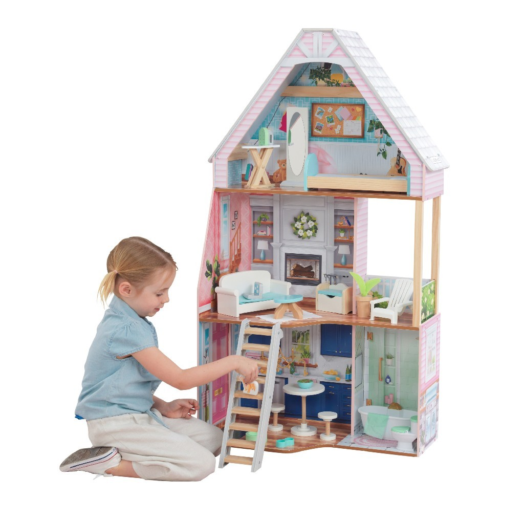 Kidkraft Matilda Dollhouse With Ez Kraft Assembly Kidkraft 65983