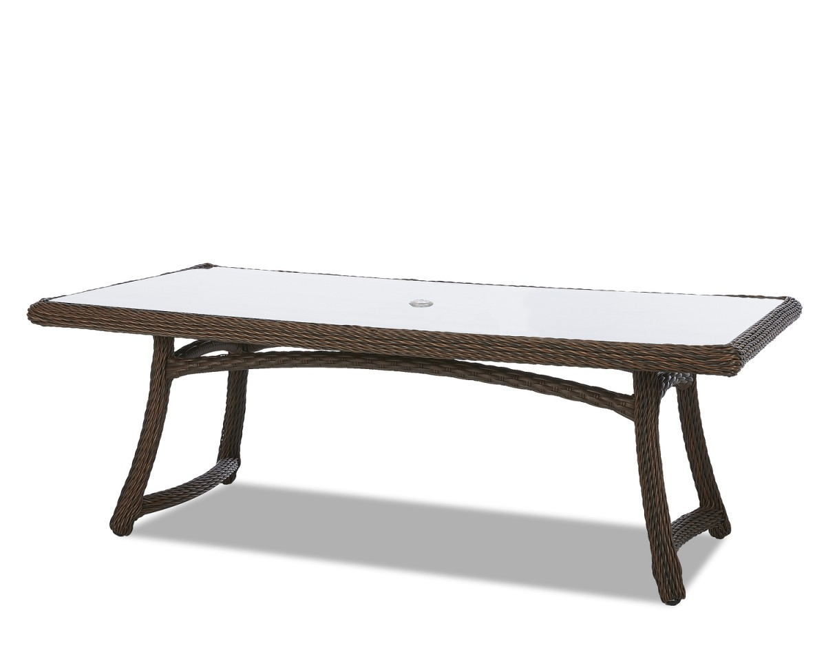"Klaussner Outdoor Laurel 84"" Rectangular Dining Table"