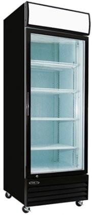 Kool It KGM23 Single Glass Door Refrigerator With 23 Cu. Ft.