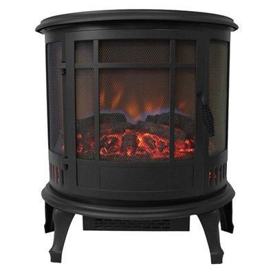 Kozy World Claremont Electric Stove Black Es4830