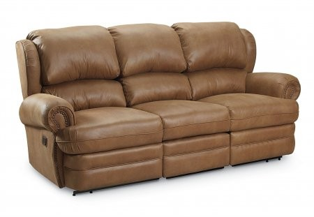 Lane Furniture 203 39 27 5427 13 Han Double Reclining Sofa In Antique Black Special Order Leather Vinyl