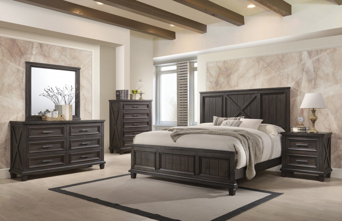 Lane Furniture Cimarron Java King 5-Piece Bedroom Set