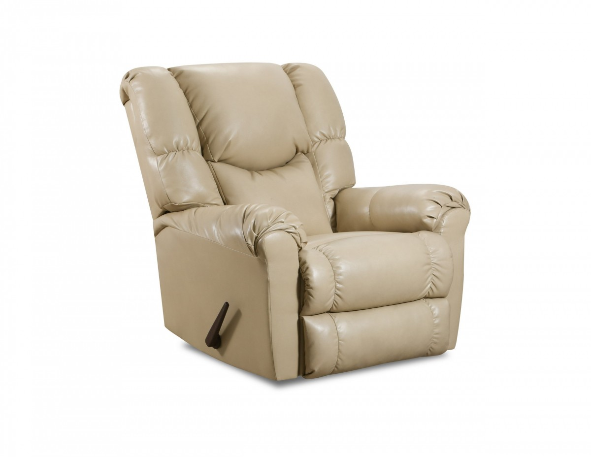Lane Home Essentials Cream Rocker Recliner Discount Bandit