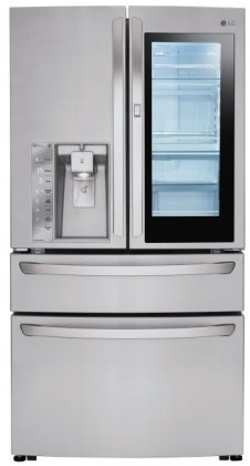 Lmxs30796s 36 Quot French Door Refrigerator With 30 Cu Ft