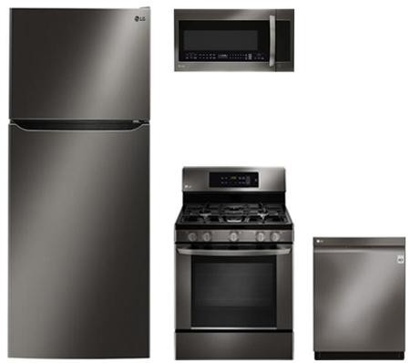 LG 4-Piece Kitchen Package with LTCS24223D 33