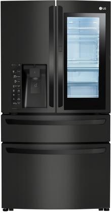 LG LMXC23796M 4 Door French Door Refrigerator With 23 Cu. Ft. Capacity  Counter Depth And InstaView In ...