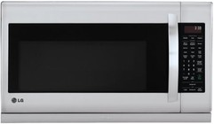 "LG LMH2235ST 30"" Over-the-Range Microwave with 2.2 Cu. Ft.  1000 Cooking Watts  400 CFM Venting System  Sensor Cooking  ExtendaVent 2.0  EasyClean  and QuietPower Ventilation System in Stainless Steel"