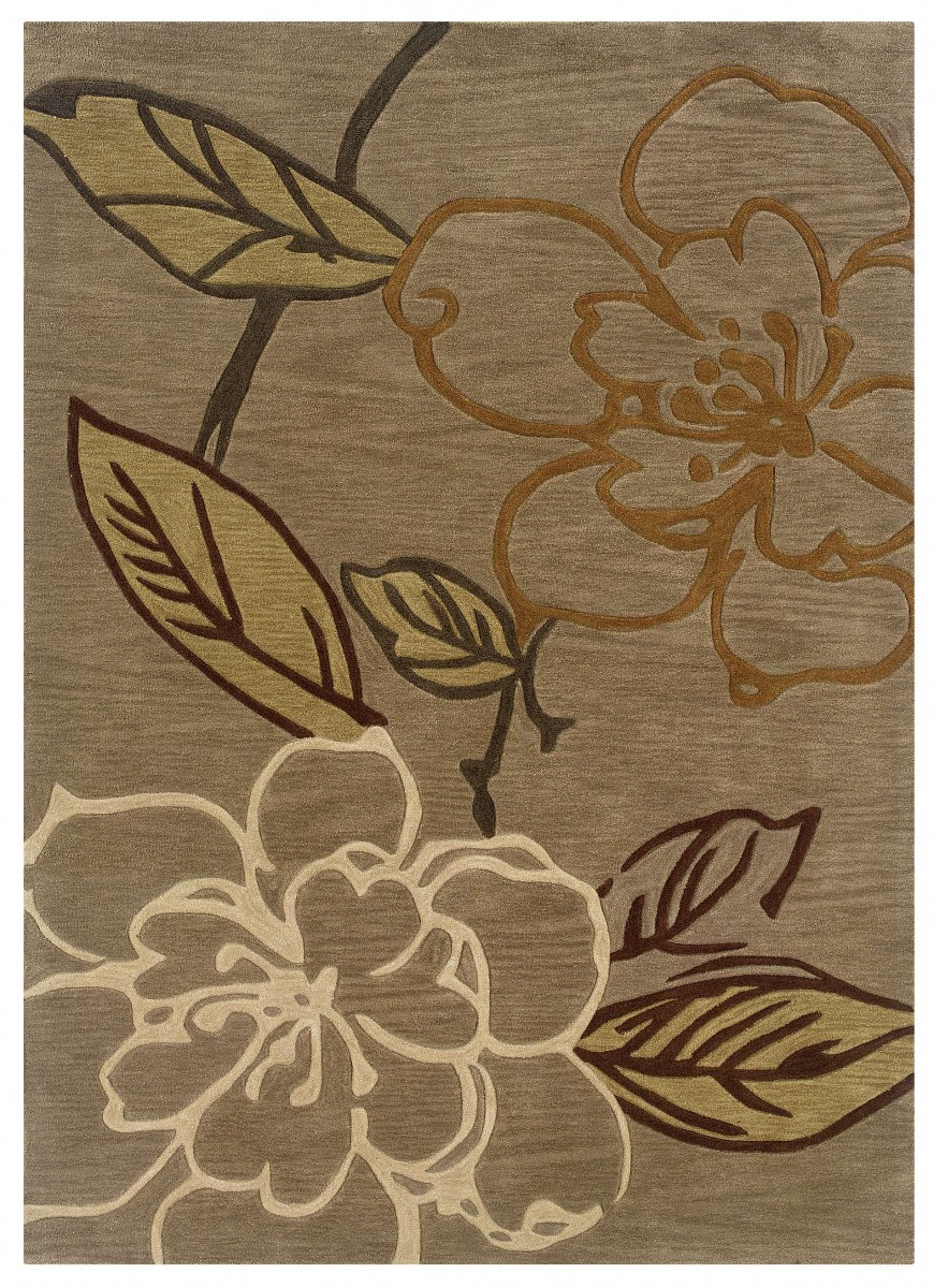 Linon Home Decor Products Inc Trio Beige 8 X 10 Rug