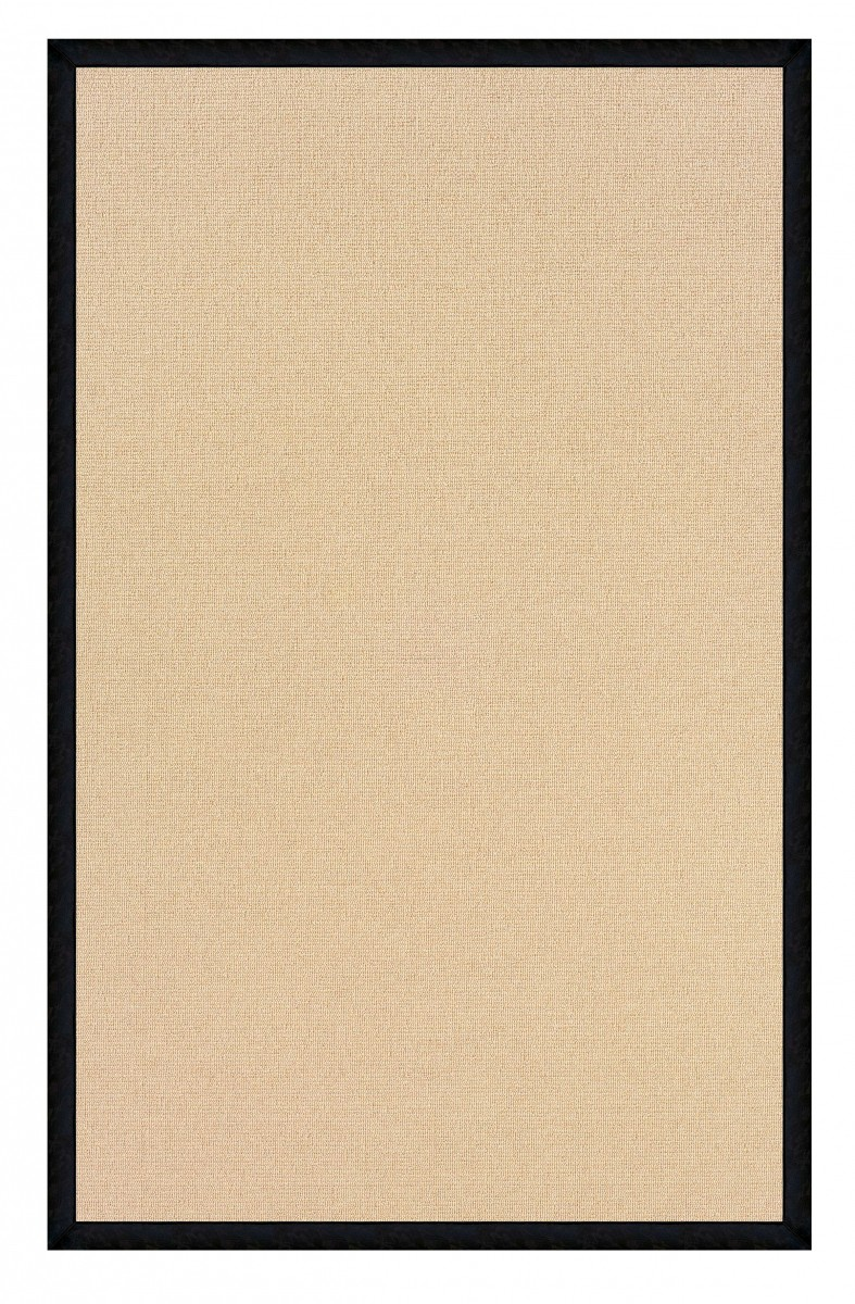 Linon Home Decor Products Inc Athena Natural Black 2 6 Quot X
