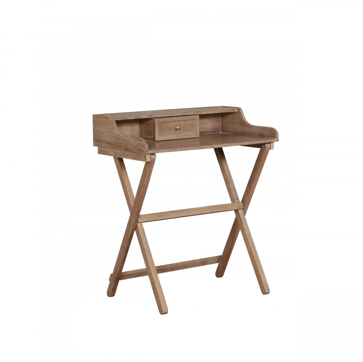 Home Decor Products Inc: Linon Home Decor Products Inc. Coy Gray Wash Folding Desk