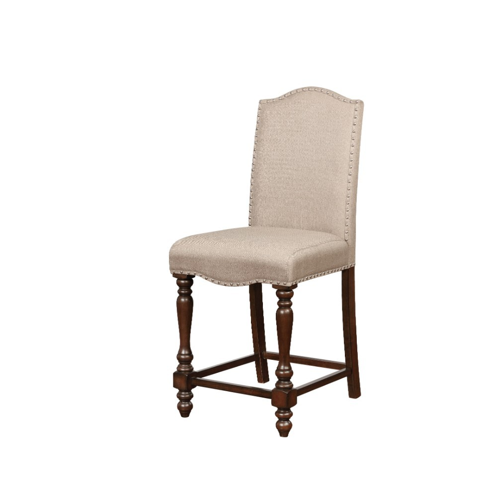Home Decor Products Inc: Linon Home Decor Products Inc. Willow Brown Counter Stool