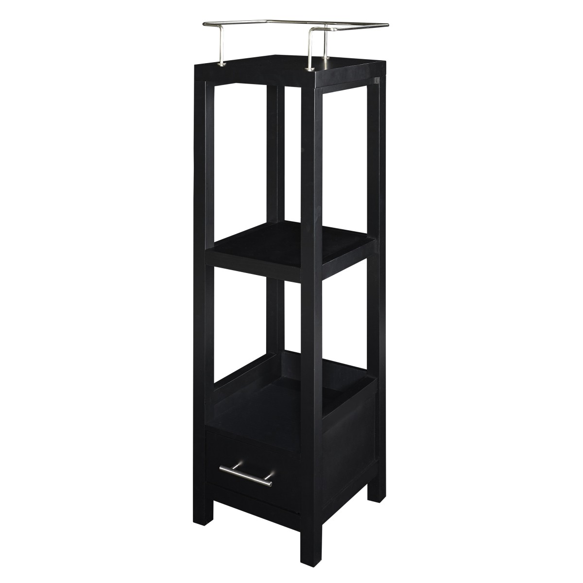 Home Decor Products Inc: Linon Home Decor Products Inc. Hoover Black Tall Storage