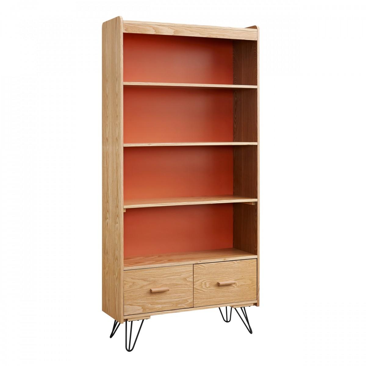 Home Decor Inc: Linon Home Decor Products Inc. Perry Natural & Orange