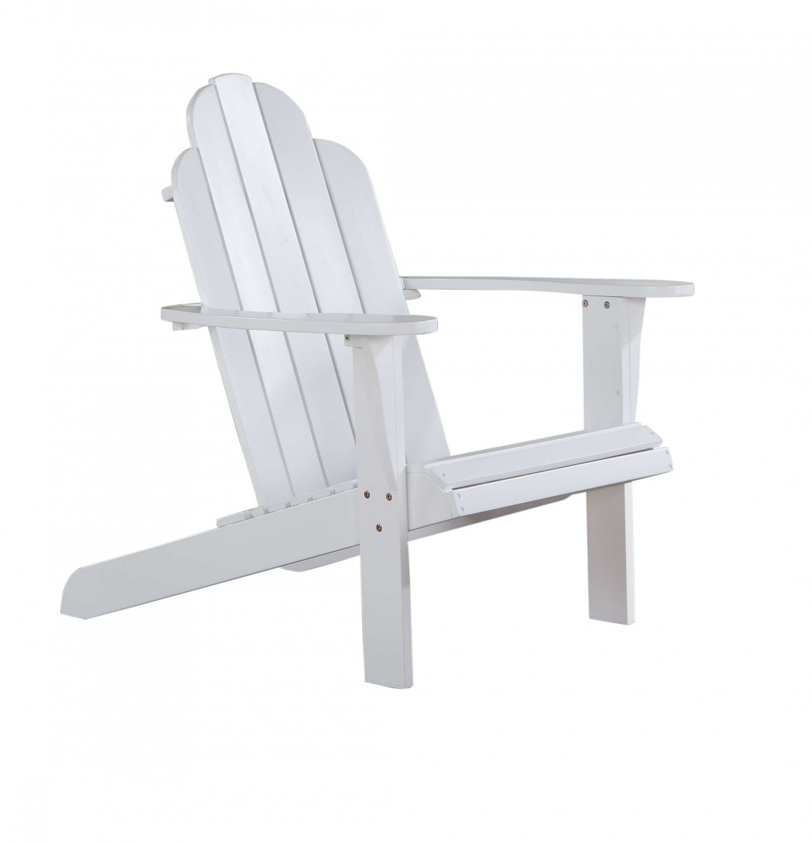 Home Decor Products Inc: Linon Home Decor Products Inc. White Adirondack Chair