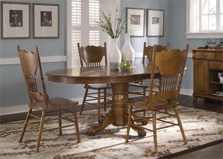 Liberty Furniture Nostalgia Collection CDPDS Oval - 72 oval dining table