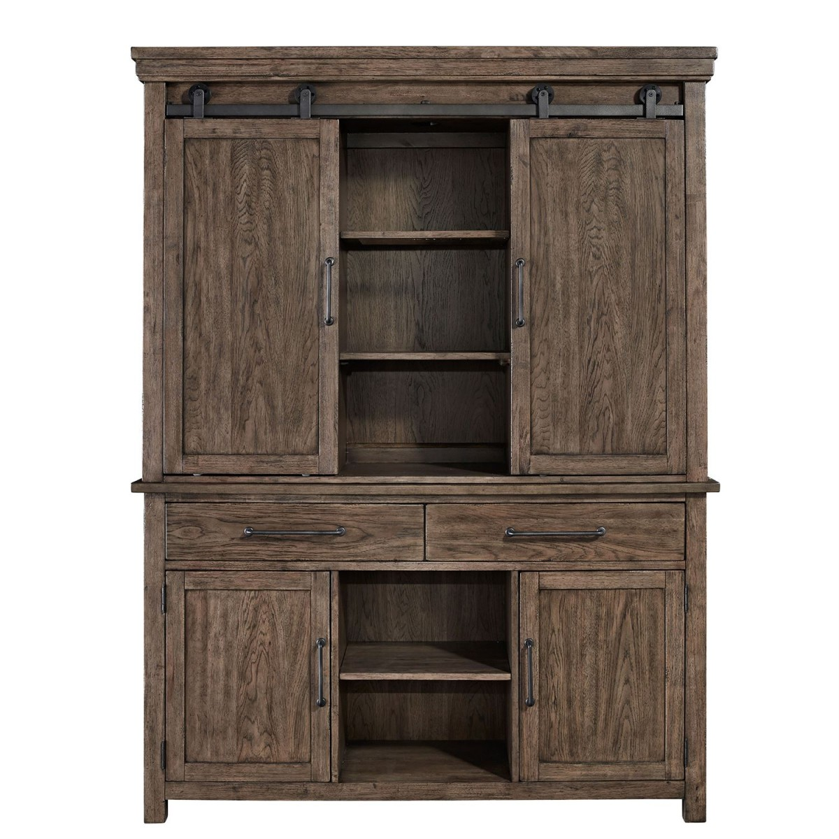 Liberty Furniture Sonoma Road Hutch Amp Buffet In Weather