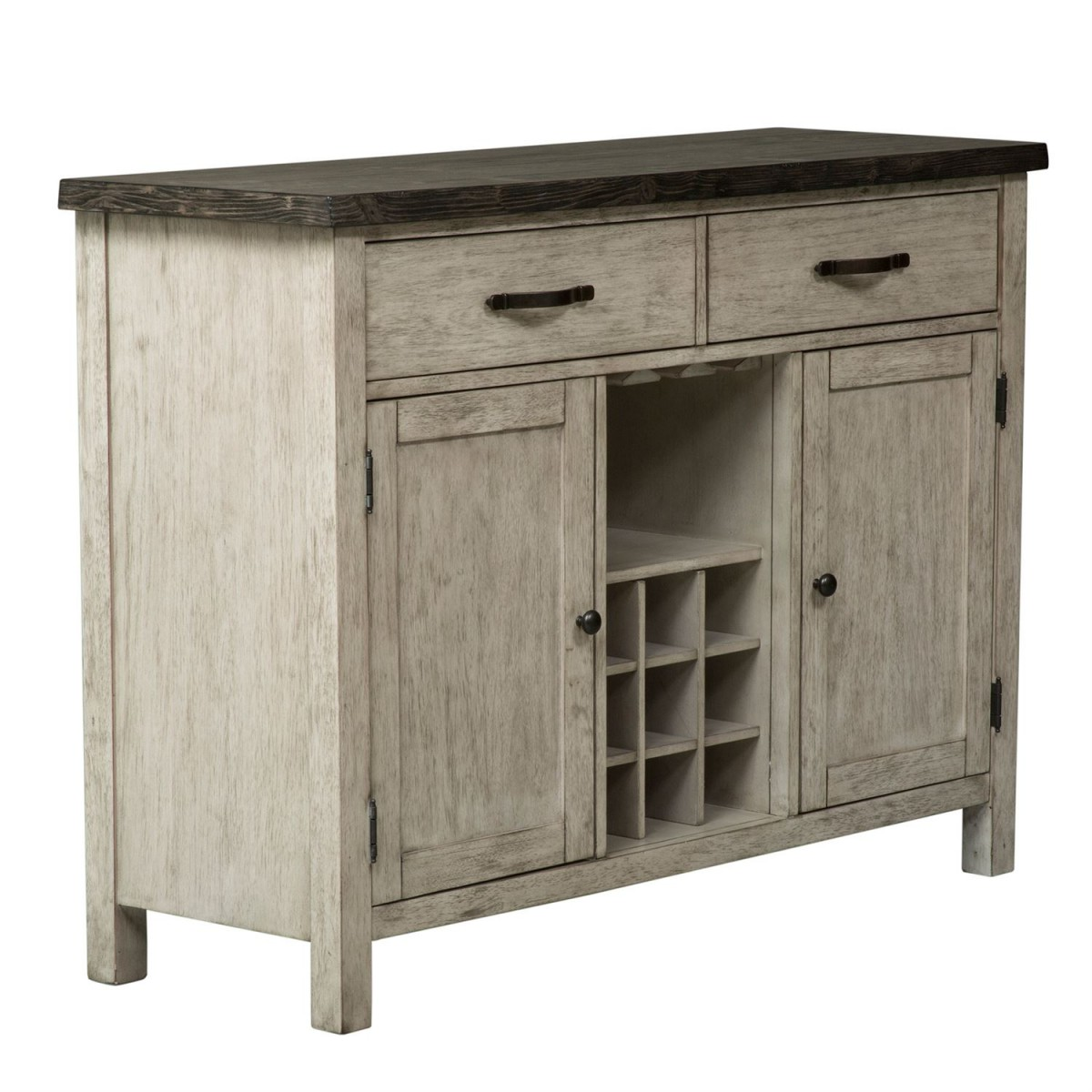 Liberty Furniture Willowrun Sideboard In Rustic White 619