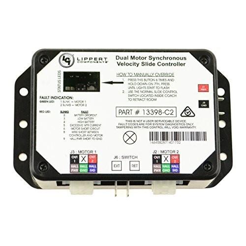 Lippert Components V000168105 Solera Black 7 Slider