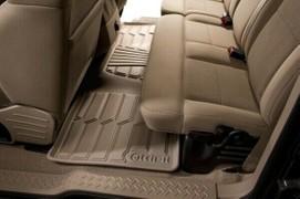 Lund 383211-T Tan Catch-It Vinyl Rear Seat Floor Mat