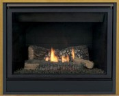 """Majestic 42CFDVNISL 42"""" Patriot Direct Vent Gas Fireplace Up to 24 000 BTUs with Clean Face Design  IPI Ignition and Uses SLP Pipe"""