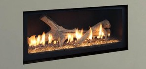 """Majestic WDVP500NTSC 42"""" Natural Gas Echelon Top Vent Wideview Direct Vent Fireplace with Signature Command Control and Certified Safety Barrier"""
