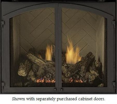 Majestic DD36CDFB 36 Inch Designer Fireplace Cabinet Door Frame   For 36  Inch VFH Gas Fireplaces