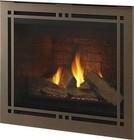 "Majestic Meridian Platinum Series DBDV36PLATIL 41"" Liquid Propane Fireplace with 36"" Viewing Area  33 000 BTU and Intellifire Plus Ignition System"
