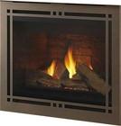 "Majestic Meridian Platinum Series DBDV42PLATIL 48"" Liquid Propane Fireplace with 42"" Viewing Area  37 000 BTU and Intellifire Plus IPI Ignition System"