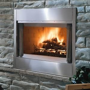 Montana 42 42 inch outdoor radiant stainless steel fireplace with majestic montana 42 42 inch outdoor radiant stainless steel fireplace with traditional refractory teraionfo