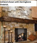 "Majestic ASH42 Ashland 42"" Wood Burning Fireplace with Full Refractory Lining and Dual Gas Knockouts  Up to 1596 sq. in. of Viewing Area  UL  ULC Listed"