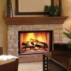 WSB60 Polished Brass Finish Full Framed Glass Door for SB50HB Fireplace