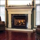 """Majestic 300DVBHPSC7 33"""" R / T Convertible Direct Vent Fireplace with Signature Command Control  Propane Gas"""