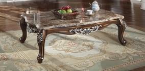 Meridian Catania C Coffee Table With Genuine Marble Top Hand - Genuine marble coffee table