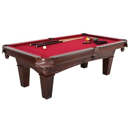 Minnesota Fats MFTTBL Fullerton Burgundy BilliardPool Table - Fats pool table